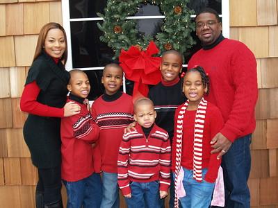 Dr. Courtney and Genise Shelton & Family