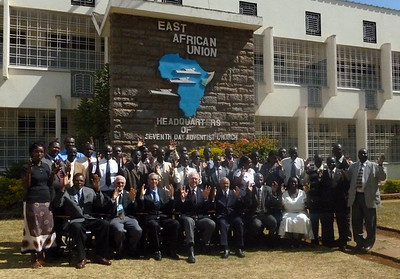 The large group who attended the East Africa Deaf Ministry workshop in Feb., 2012