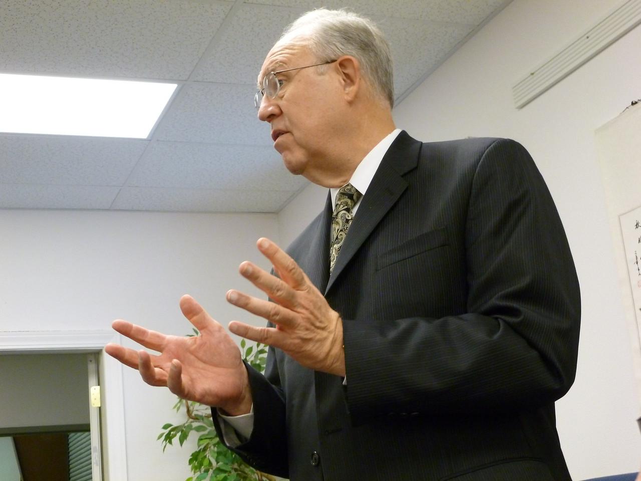 Dr. Larry Evans, General Conference of SDA Liaison for Deaf Ministry