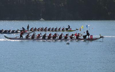 Dragon Boat Festival on Treasure Island