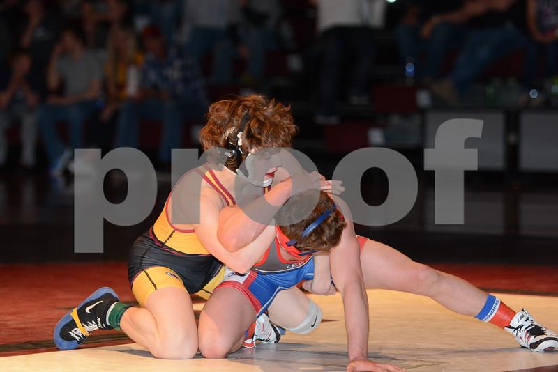 2015 Dream Team Classic <br /> Team USA 30, Team Iowa 22<br /> 113 — Brennen Doebel (Iowa) dec. Airk Furseth, 5-2