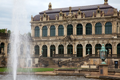 Zwinger Palace in Dresden.  This wing houses the Salon of Mathematical and Physical Instruments