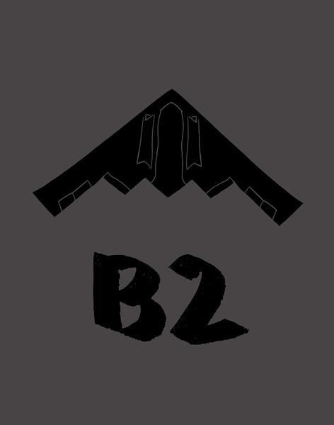 'B2' ink drawing + digital coloring Daniel Driensky © 2014