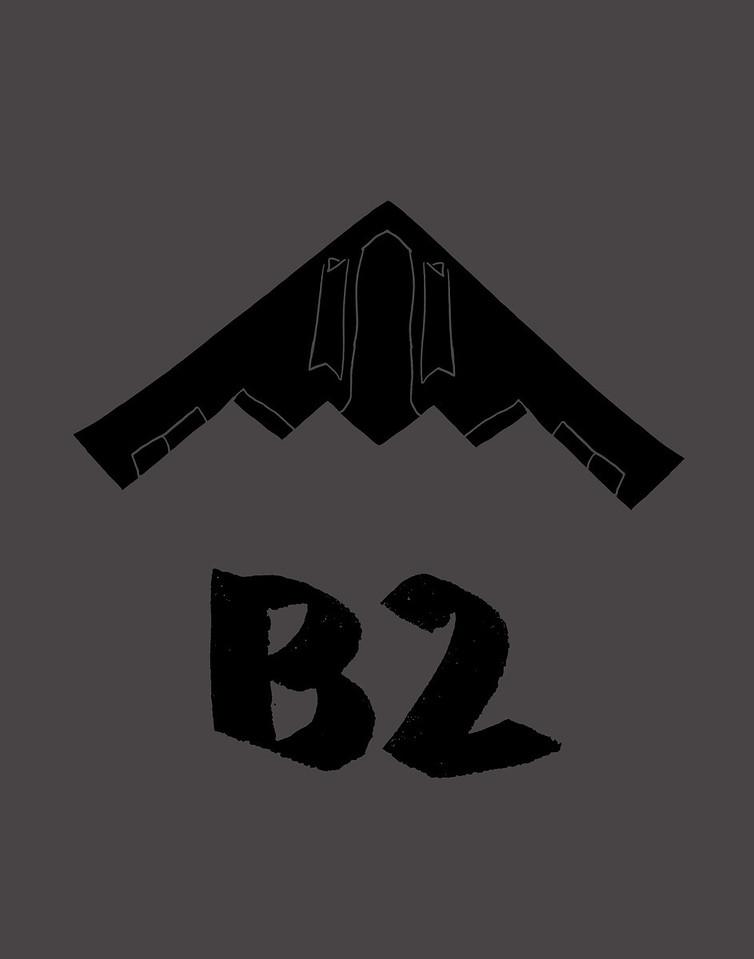 'B2'<br /> ink drawing + digital coloring<br /> Daniel Driensky © 2014