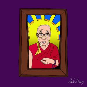 Dalai Lama Frame