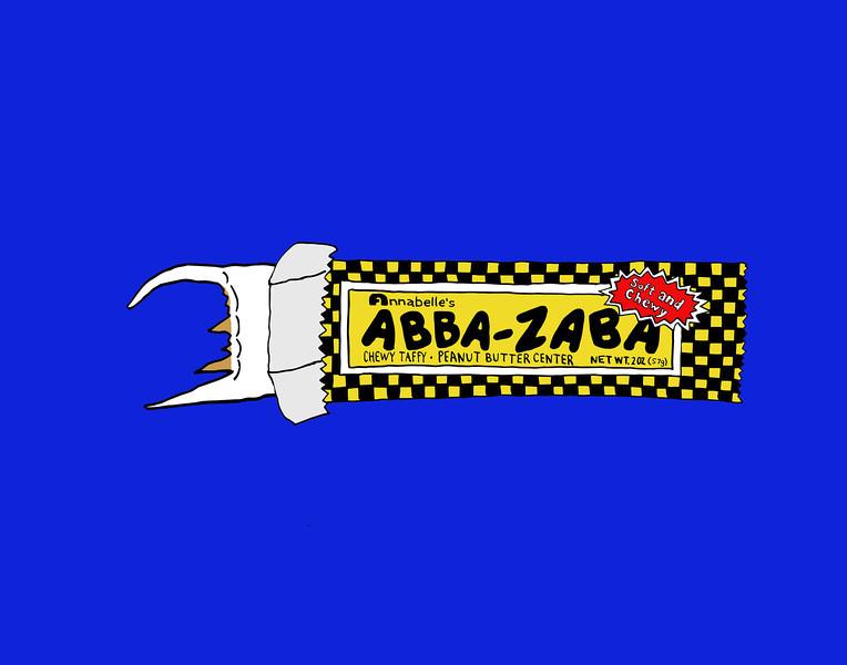 'Abba Zaba' ink drawing + digital coloring Daniel Driensky © 2014