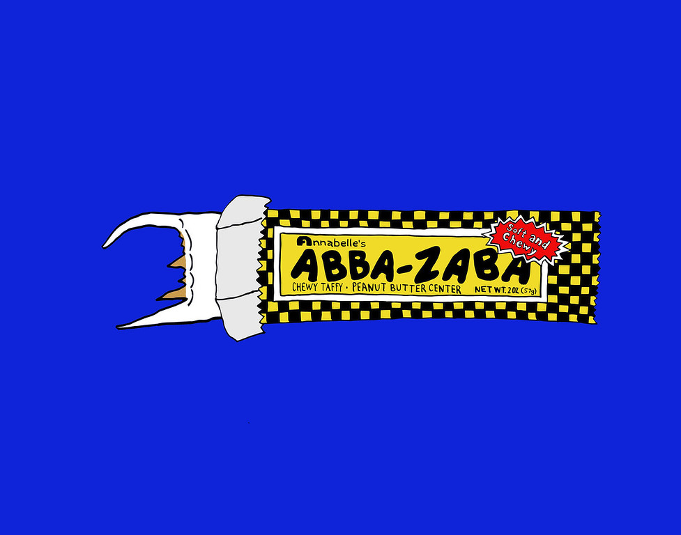 'Abba Zaba'<br /> ink drawing + digital coloring<br /> Daniel Driensky © 2014