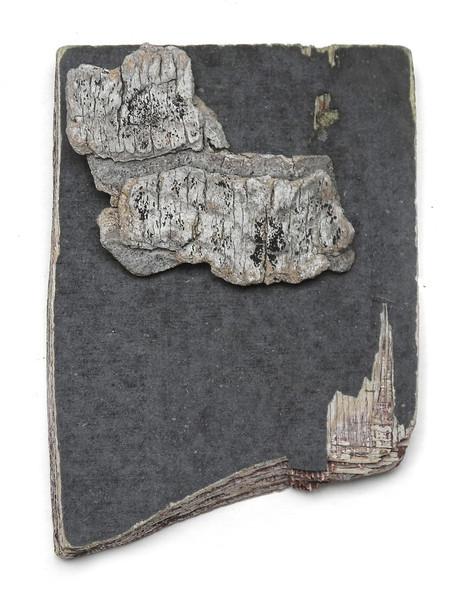 church cloud / driftwood sculpture
