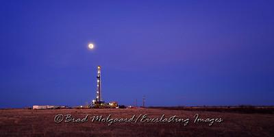 """Blue Moon"" - Eddy County, New Mexico"
