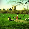 Sheep meadow, Central Park  -- click image for larger view