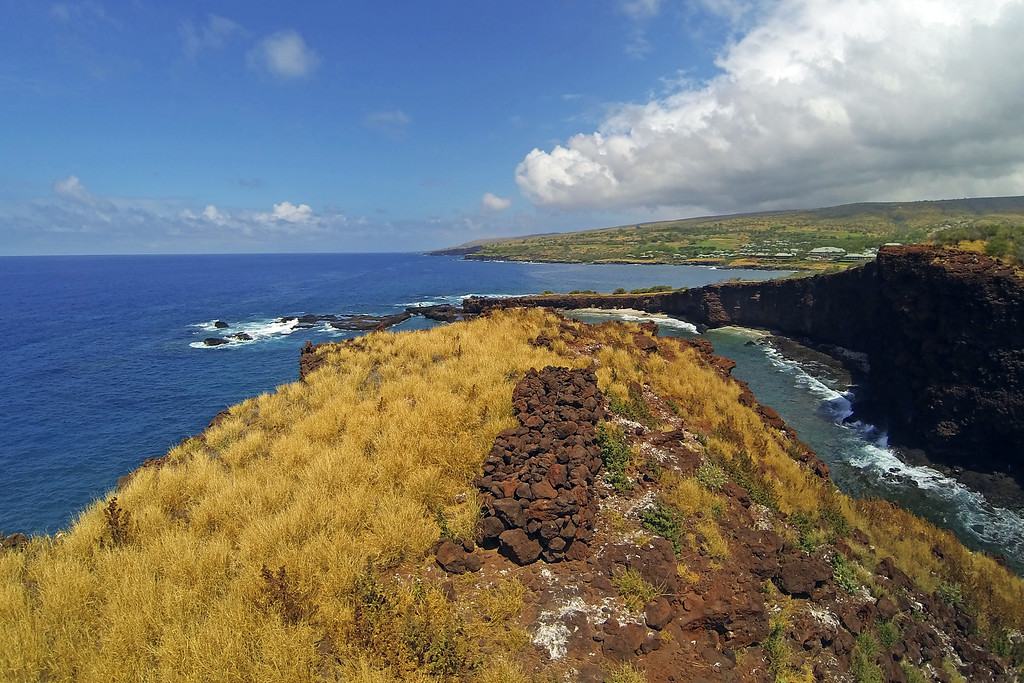 Tomb of Puupehe - Island of Lana'i, Hawaii