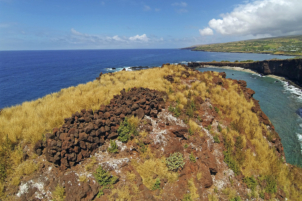 Tomb of Puupehe - Lana'i, Hawaii