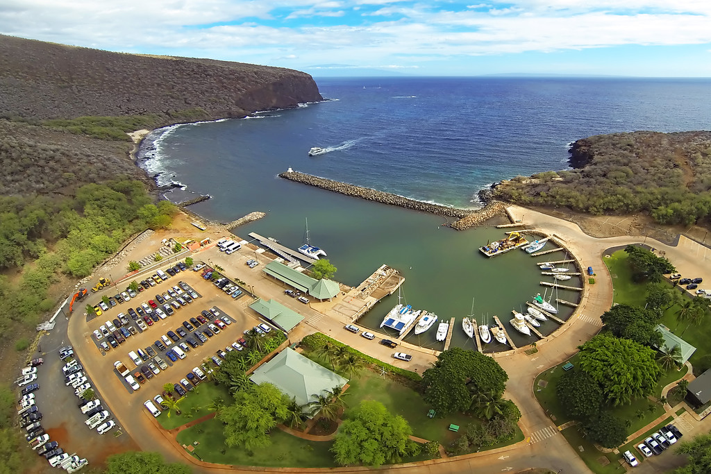 Manele Harbor - Island of Lana'i, Hawaii