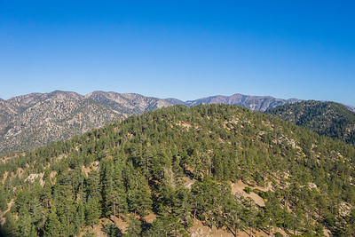 Hilltop in Angeles National Forest