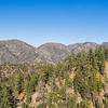 Panorama of San Gabriel Mountains