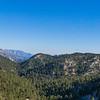 Panorama of California Mountaintops