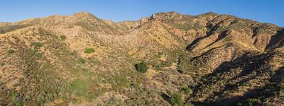 Desert Hills in the Mojave of California