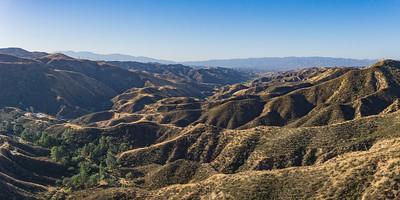 Long Southern California Hills