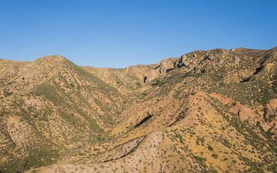 Mojave Desert Hillside
