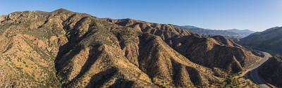 Desert Hills along Southern California Highway