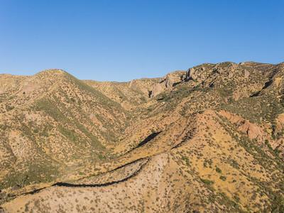 Dry Desert Hillside