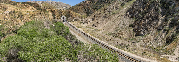 Railroad to Mountain Tunnel