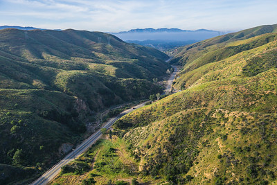 California Canyon Highway