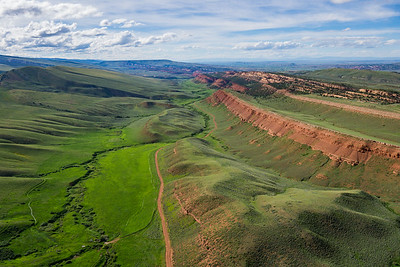 Wyoming's Red Canyon View