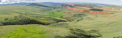 Green Hills in Central Wyoming