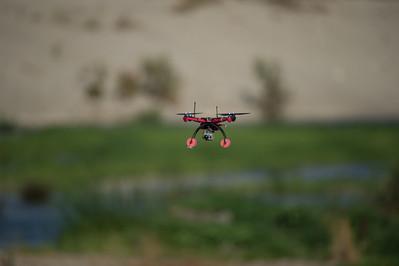 Drones, Los Angeles River, Sepulveda Basin Dam, 15-Jun-2012