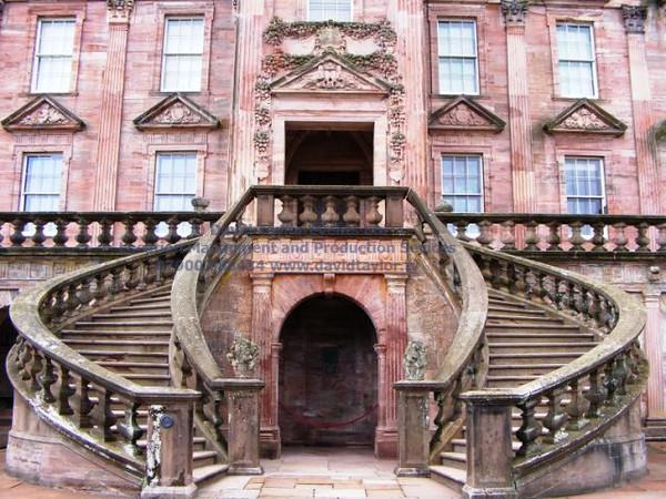 Drumlanrig Castle, Thornhill (97 horseshoe stair)