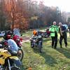 Almost twins; Dan at Deer Fields Nov. 2008