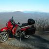 On top of White Oak Mtn.
