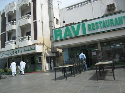 Ravis in Satwa, the best Pakistani restaurant anywhere in the world!