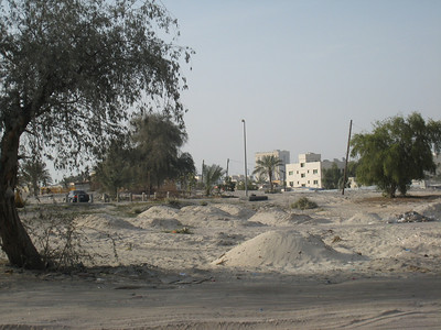Clearance area near Al Wasl Road.