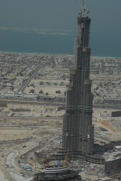 Will be tallest building in world, now 100 stories, going to 133.