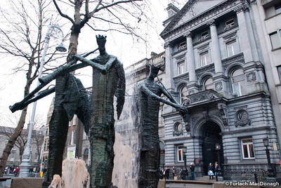 College Green sculptures.