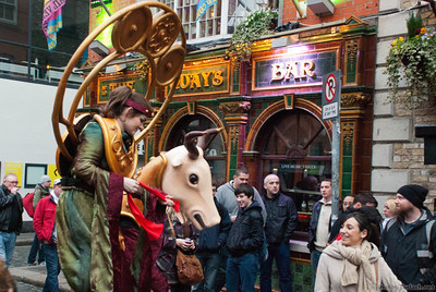 Temple Bar Characters