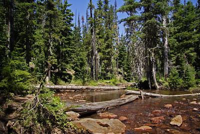 Duffy Lake Trail Day Hike and Lost Lake Camp Site