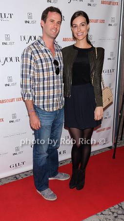 Matthew Bucklin, Ariana Rockefeller photo by Rob Rich/SocietyAllure.com © 2014 robwayne1@aol.com 516-676-3939