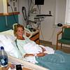 Audra awaiting her surgery