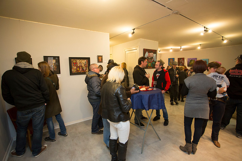 Duo art show by CIOU & MALOJO from Toulouse France