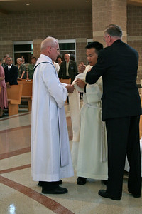 Investiture with the stole and dalmatic