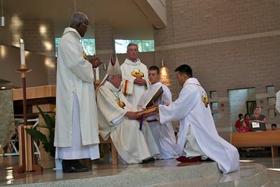 Receiving the Gospel.