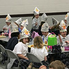 The students at the Seton campus of St. Andrew-St. Elizabeth Ann Seton School in Milford celebrated Pope Benedict's visit to the US and his 81st birthday Wednesday, April 16th (Photo by Tony Tribble)