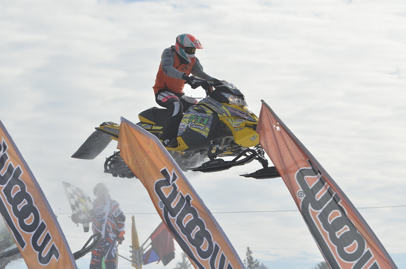 J.S.CARRAS - JCARRAS@DIGITALFIRSTMEDIA.COM  during East Coast Snocross round 2 Saturday, January 17, 2015 at Schaghticoke Fairgrounds in Schaghticoke, N.Y..