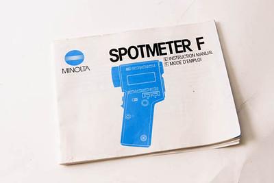 spot meter manual