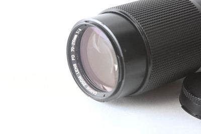 canon zoom front