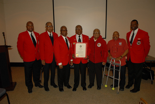 2013 March East Coast Chapter Tuskegee Airmen Chapter Meeting
