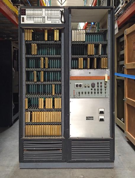 The ECHO IV CPU cabinet